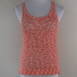 Mossimo Size Small Open Knit Textured Camisole Top